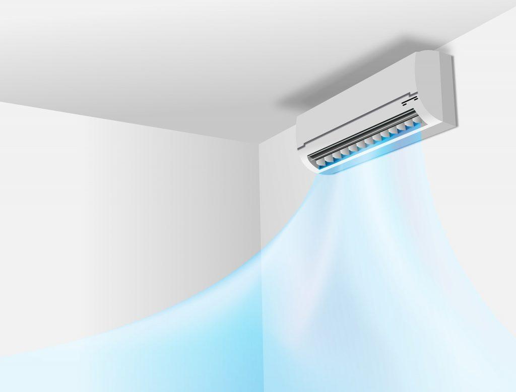 condizionatore d'aria, split interno