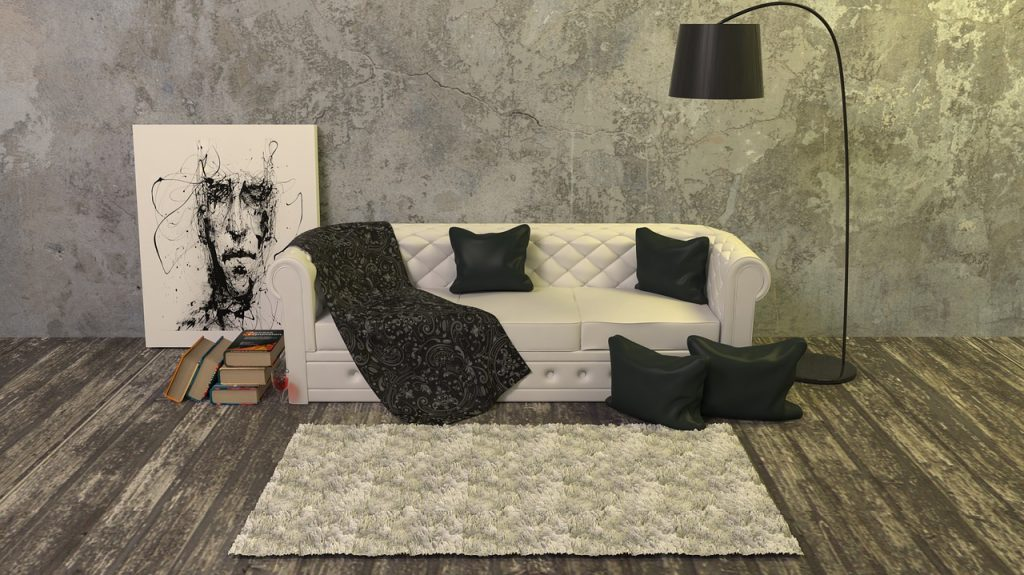 divano coperto