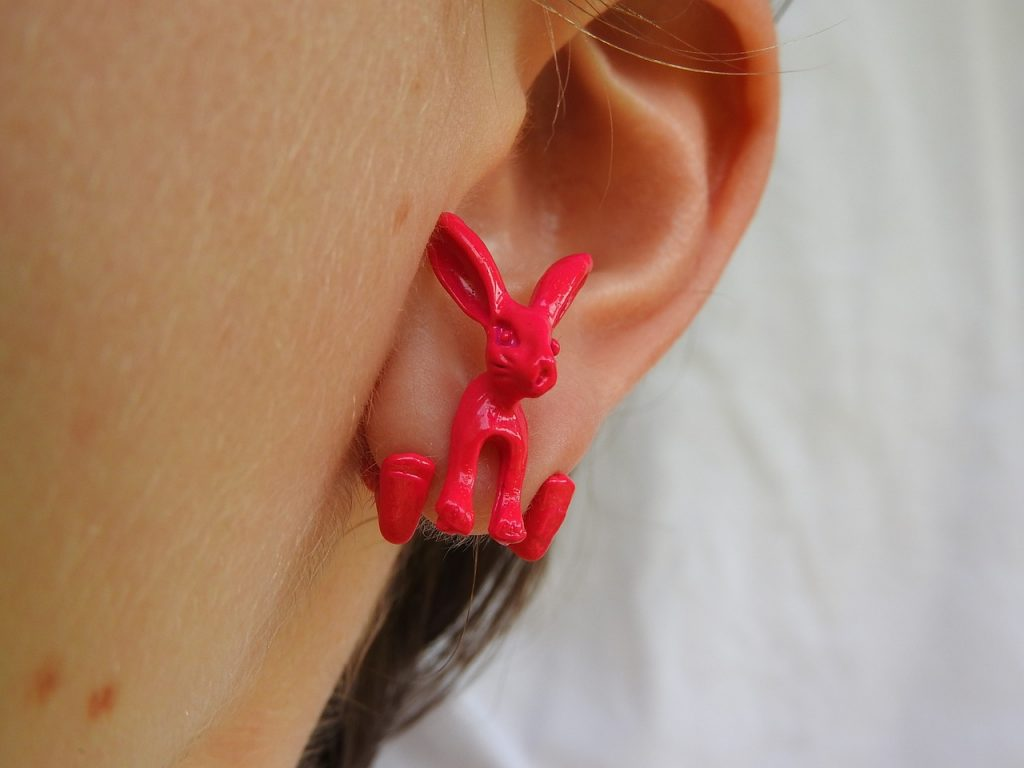 orecchini in fimo