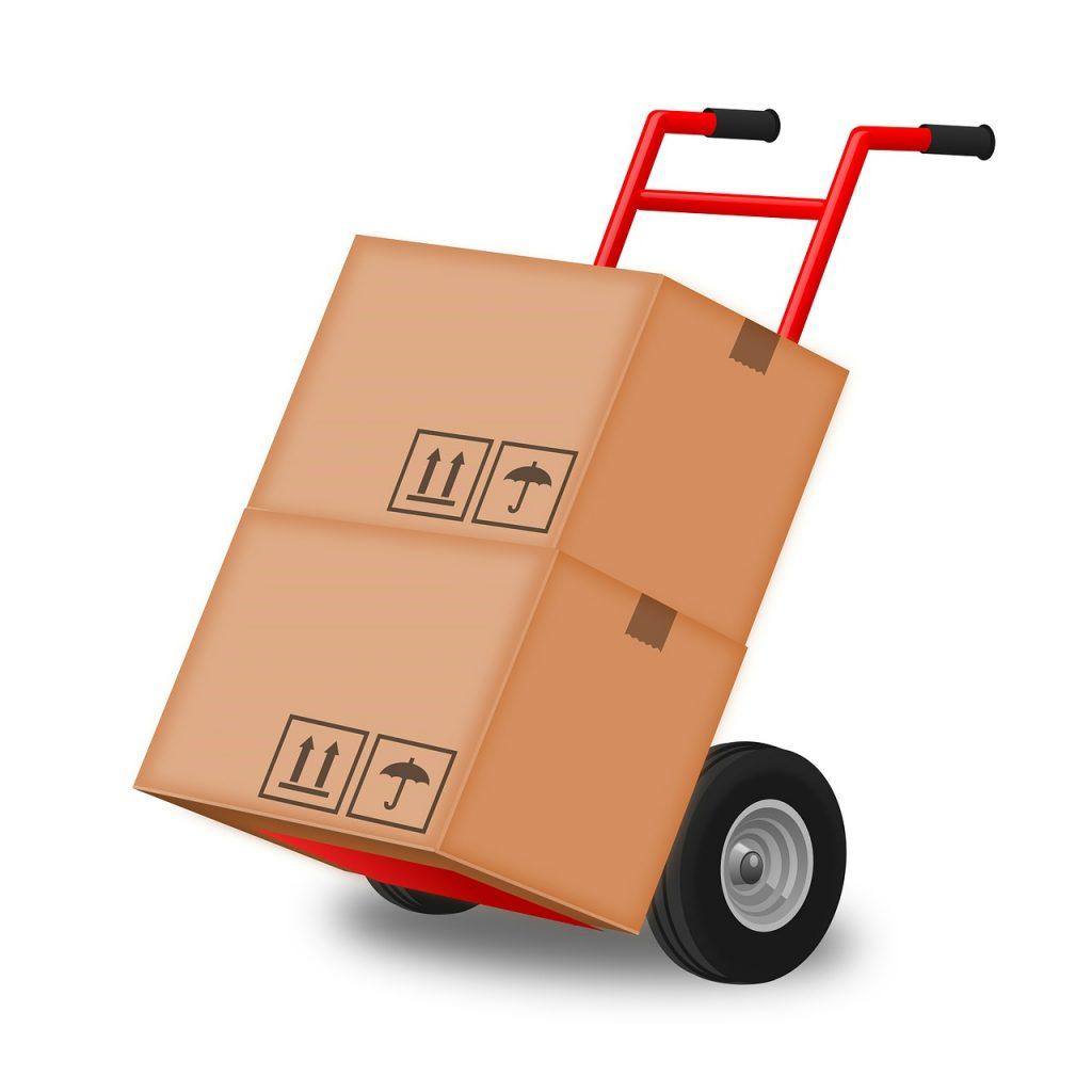 trasporto scatole per trasloco