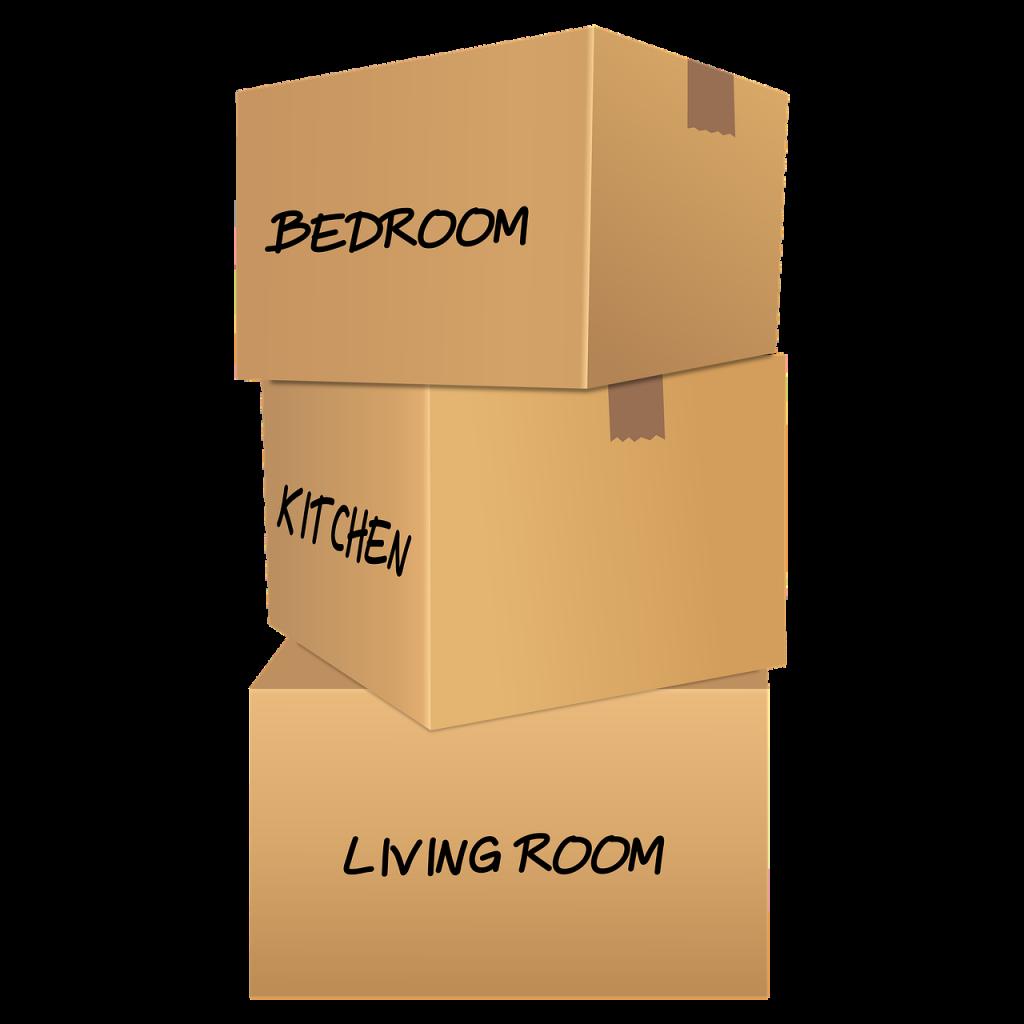 scatole per oggetti