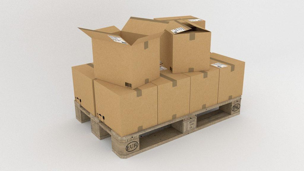 scatole di cartone per traslochi