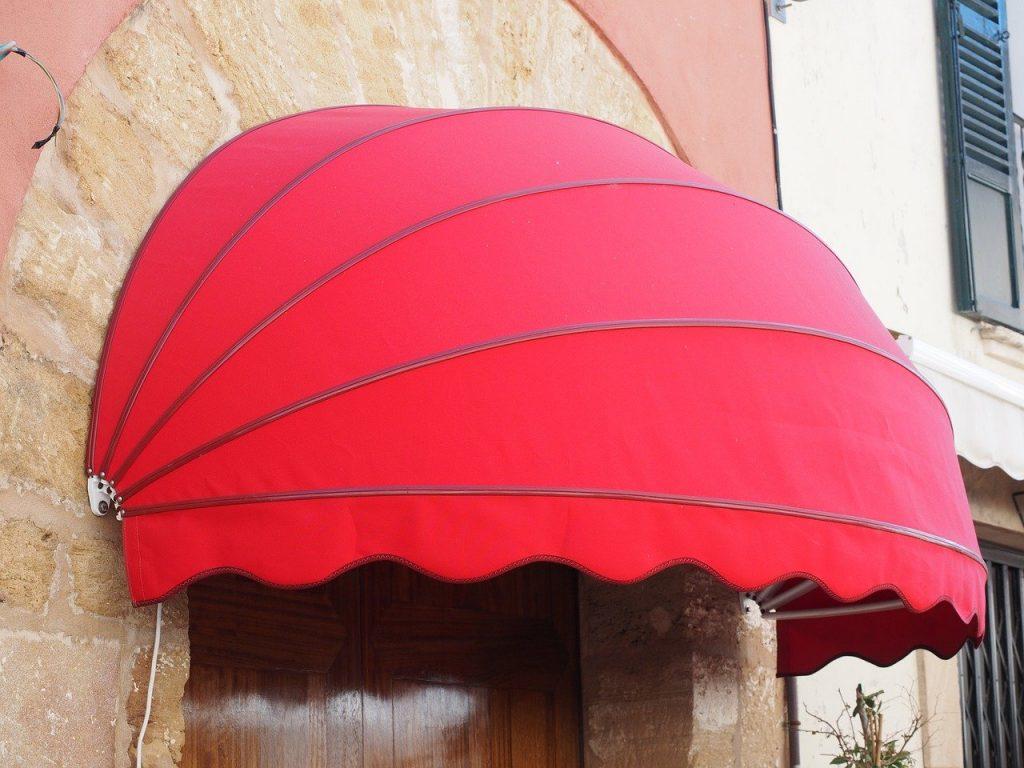 tenda da sole a capottina