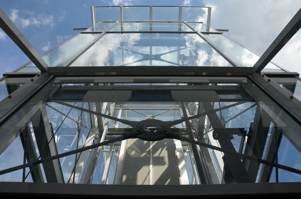 ascensore esterno - meccanismi