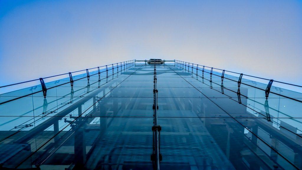 ascensore esterno cristallo