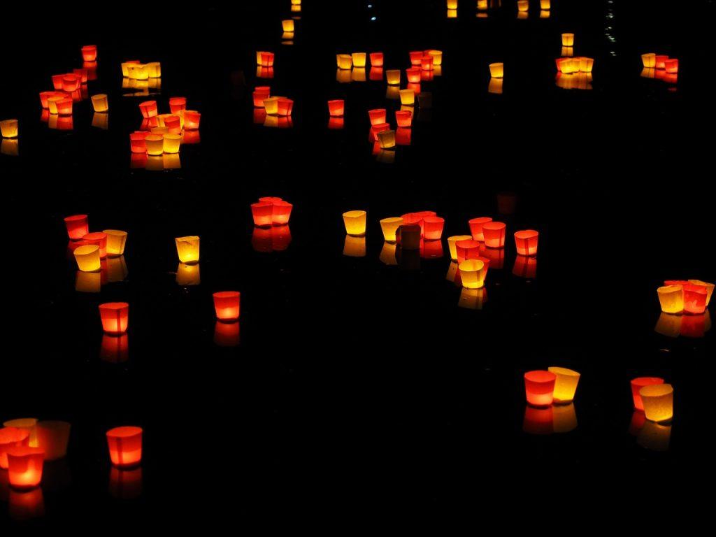 luci galleggianti