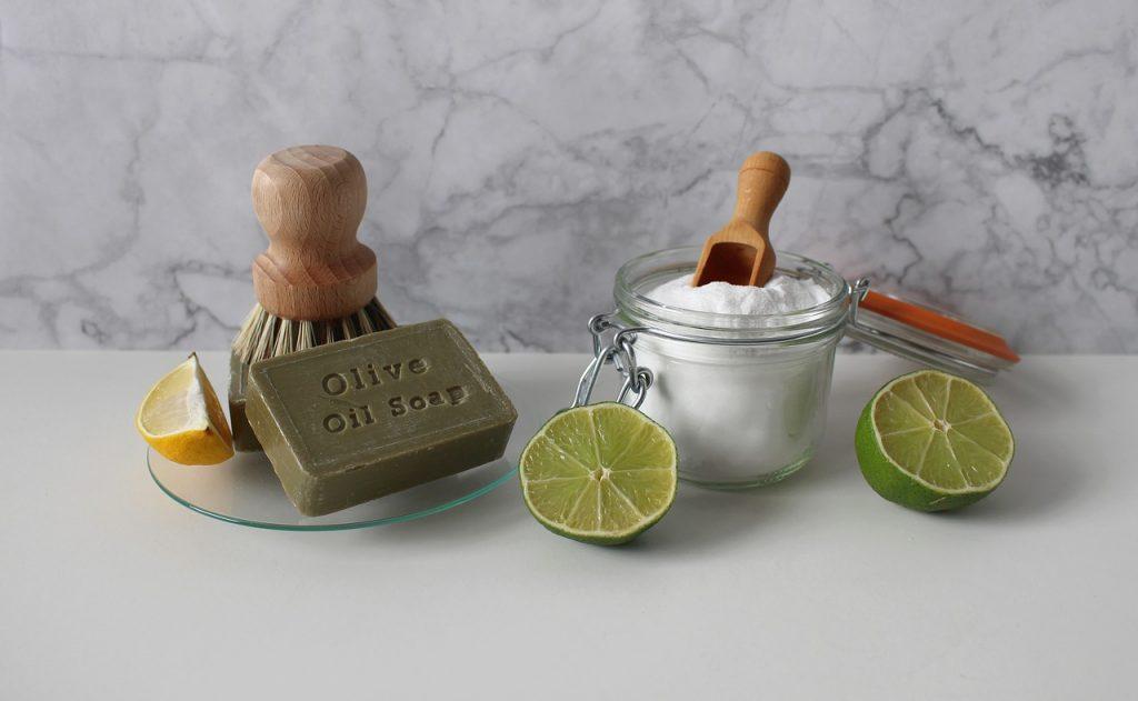 bicarbonato limone