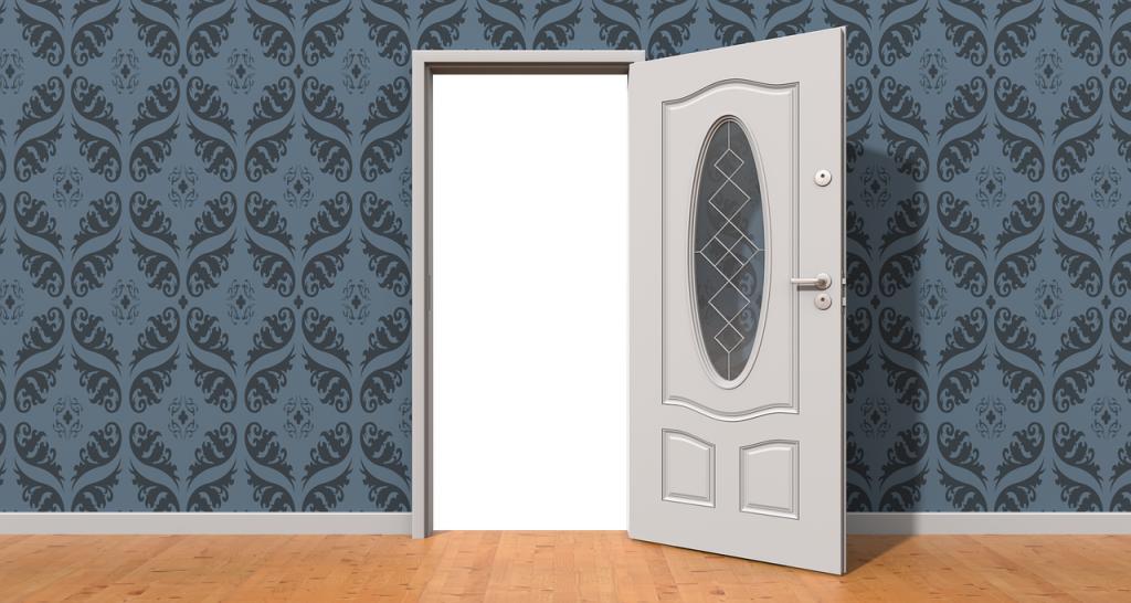 porta e pavimento stile classico