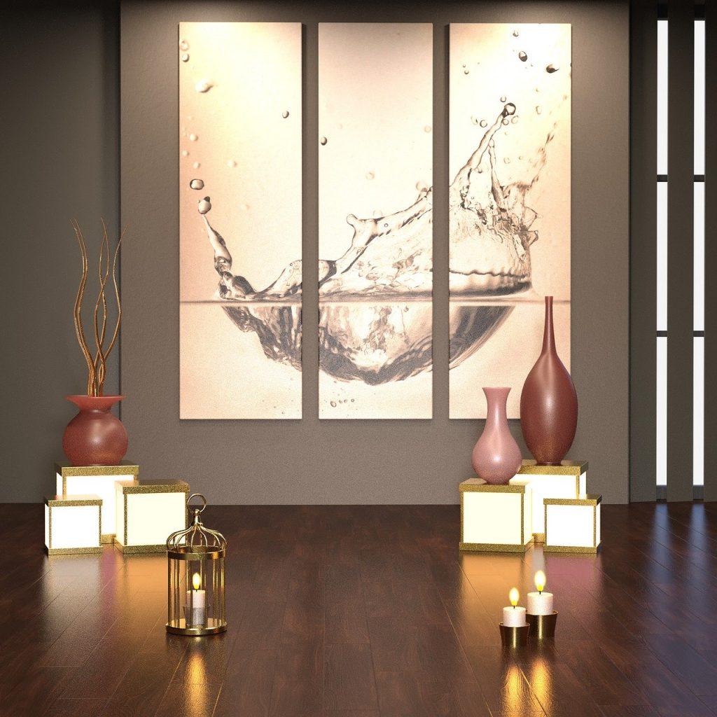 quadri di dimensioni diverse con immagine unica