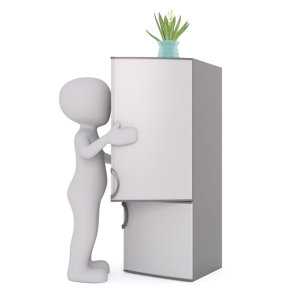 apertura frigorifero