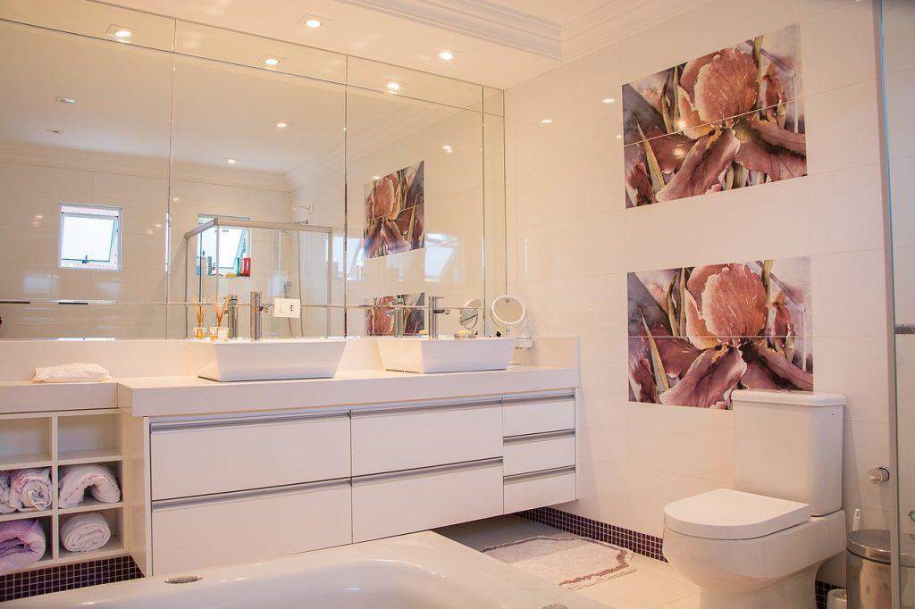 faretti led incasso specchio bagno