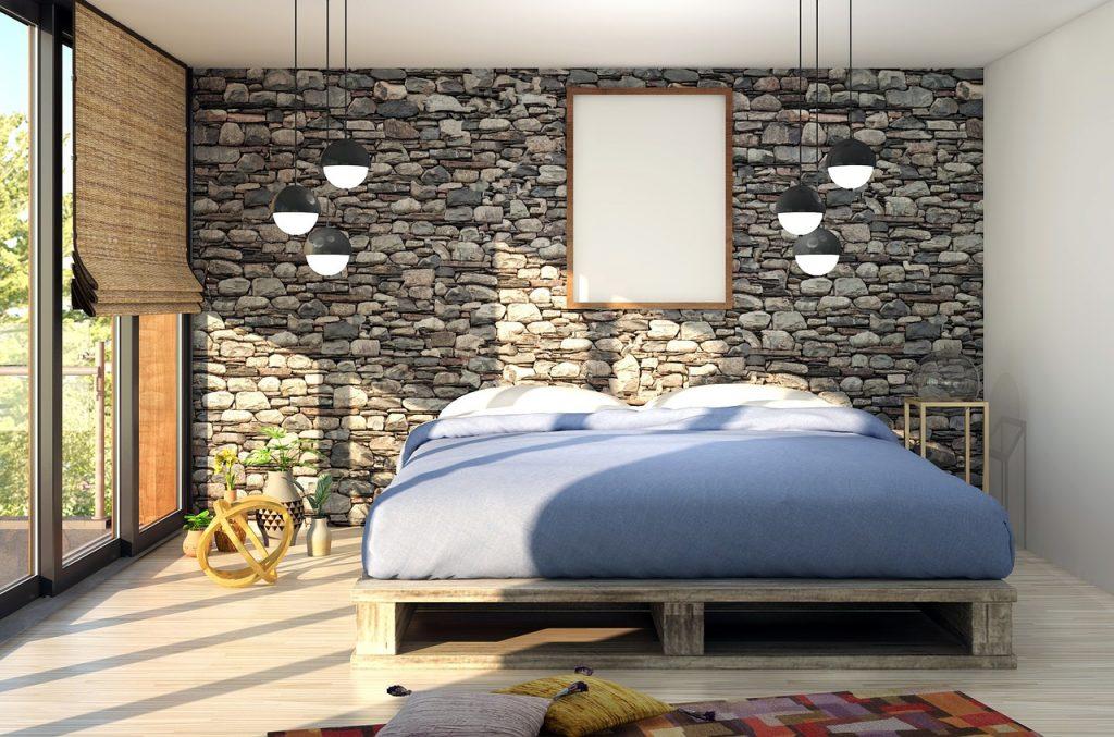 camera da letto di piccole dimensioni