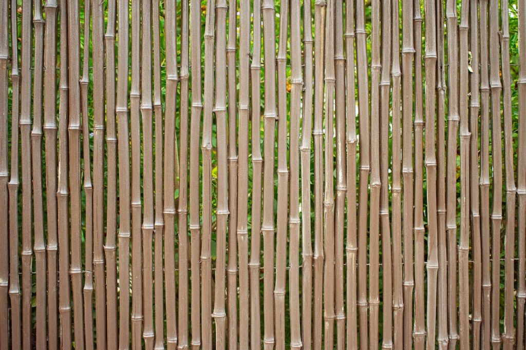recinto in bambu
