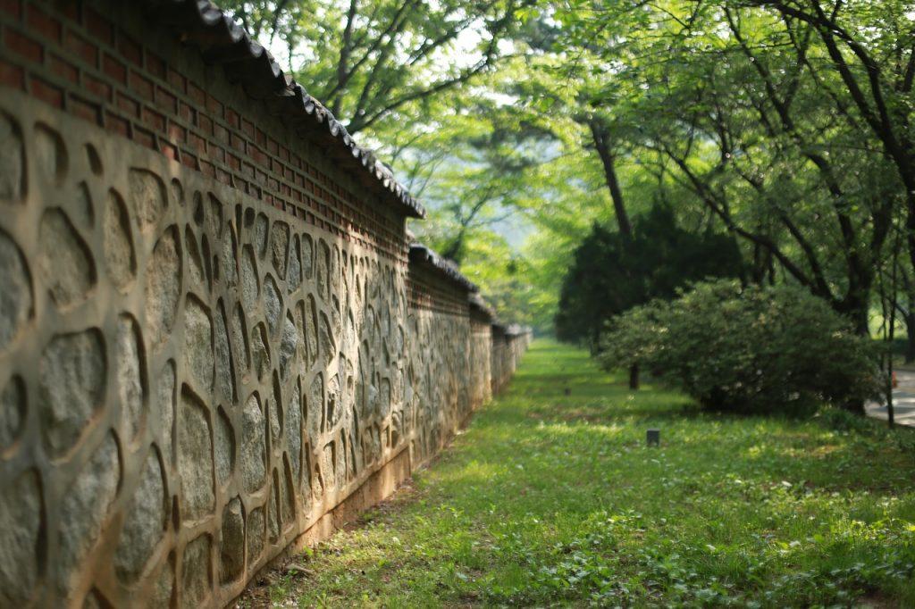 recinto in muratura