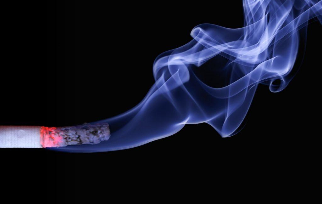 Cenere di sigaretta
