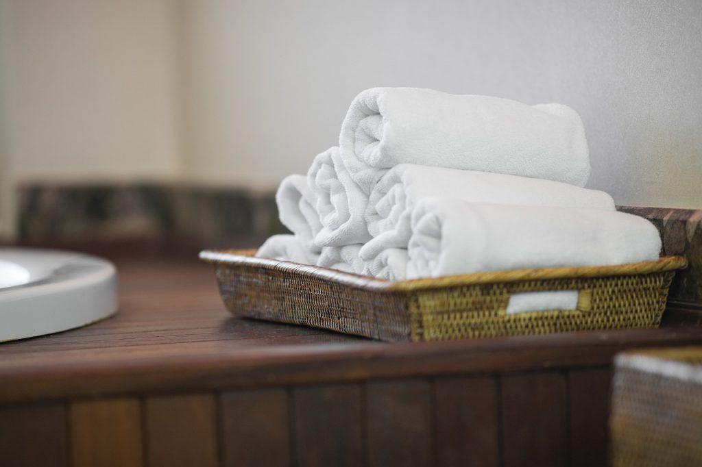 Asciugamani a vista