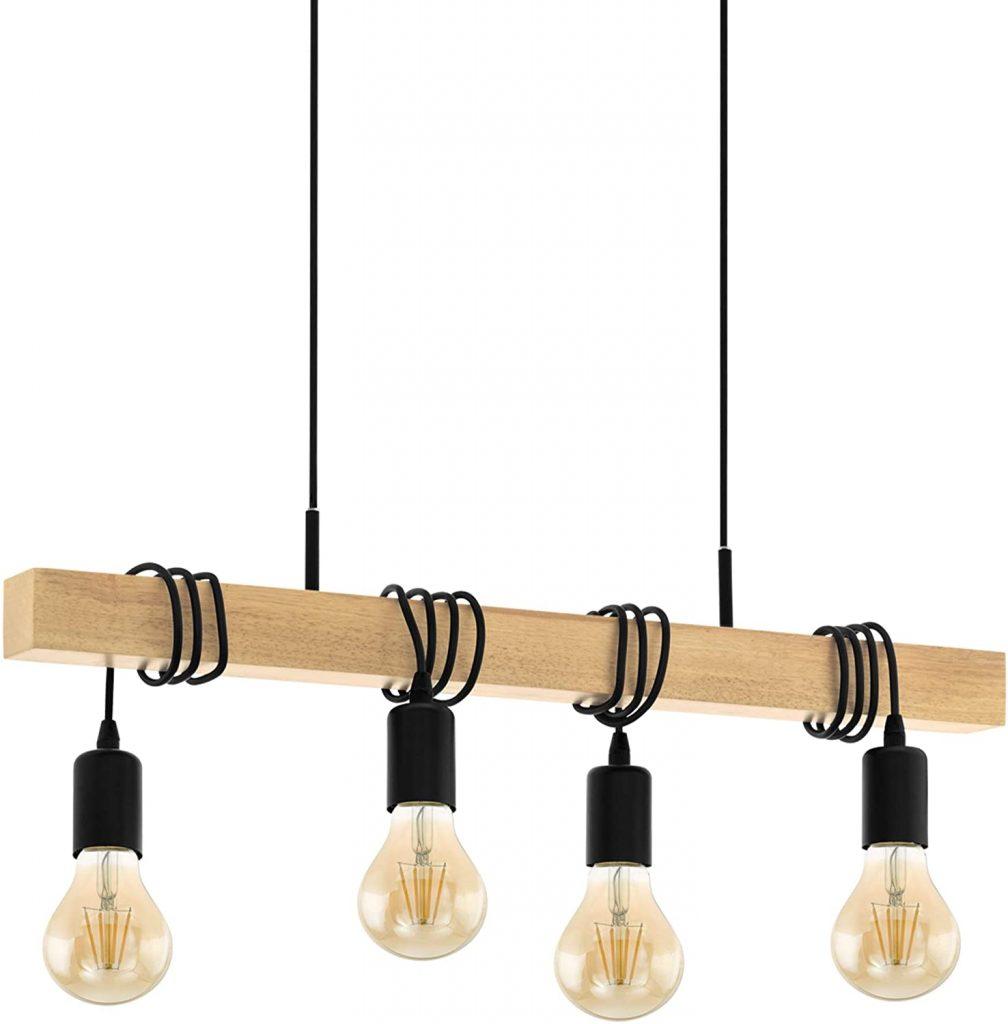 lampada a sospensione con diversi punti luce