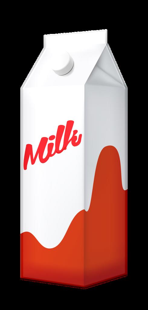 smaltimento cartone del latte