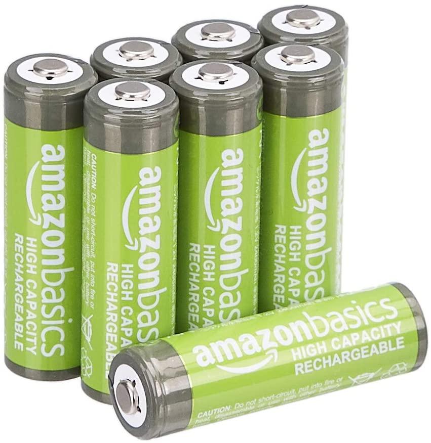 AmazonBasic batterie ricaricabili