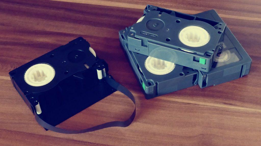 Nastro videocassette