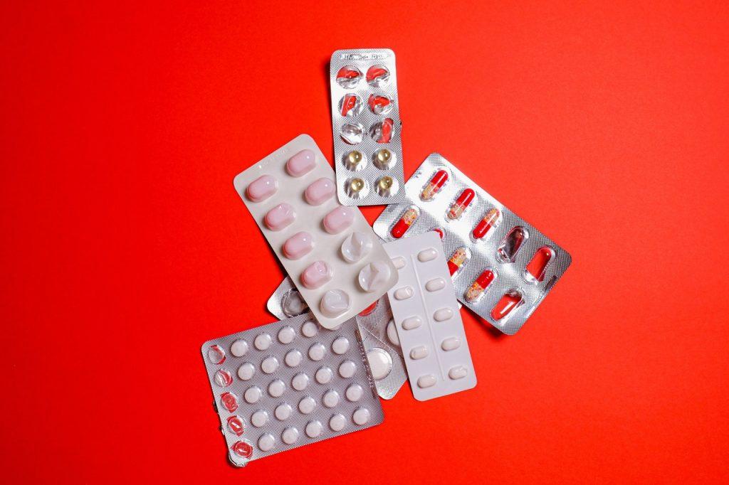 Blister vuoti di medicinali