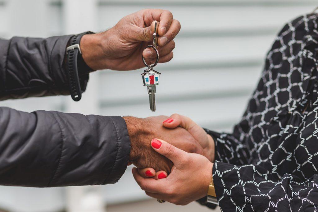 Chiavi della casa venduta