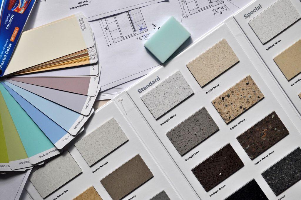 Scelta dei colori per il design interno